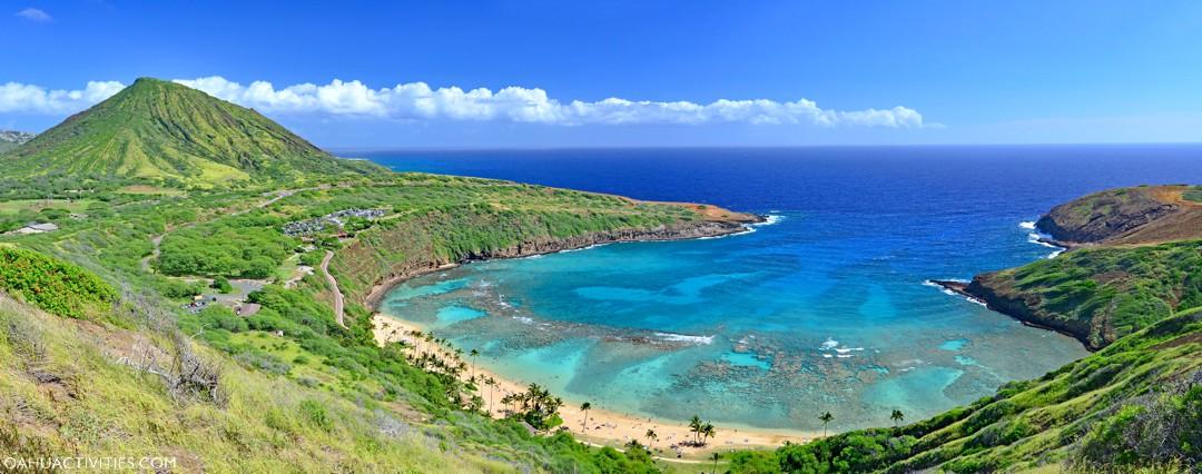 Hanauma Bay Nature Preserve - snorkel, parking, hours - Oahu Activities