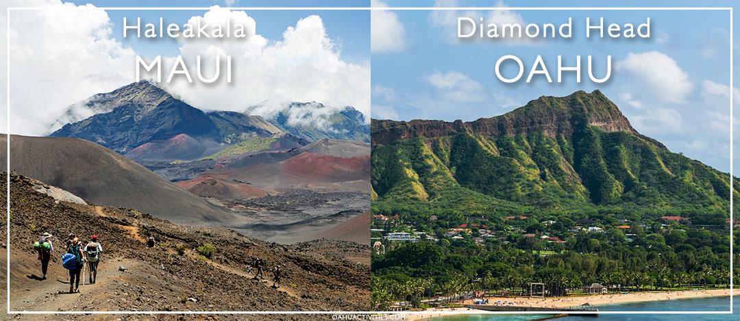 Maui Oahu outdoor activities