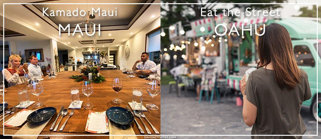 Maui and Oahu restaurants