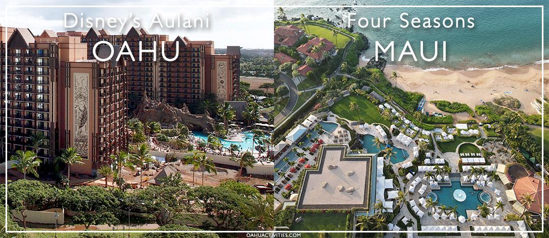 Oahu and Maui accommodations