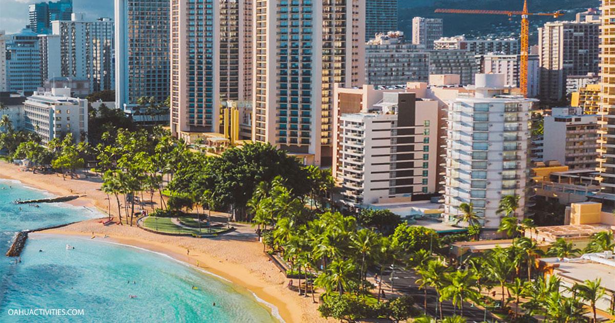 Waikiki City Buildings